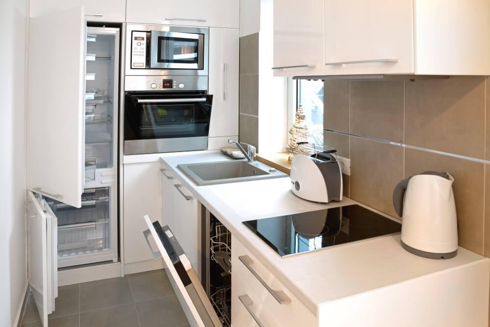 Alegerea mobilierului in functie de dimensiunea bucatariei