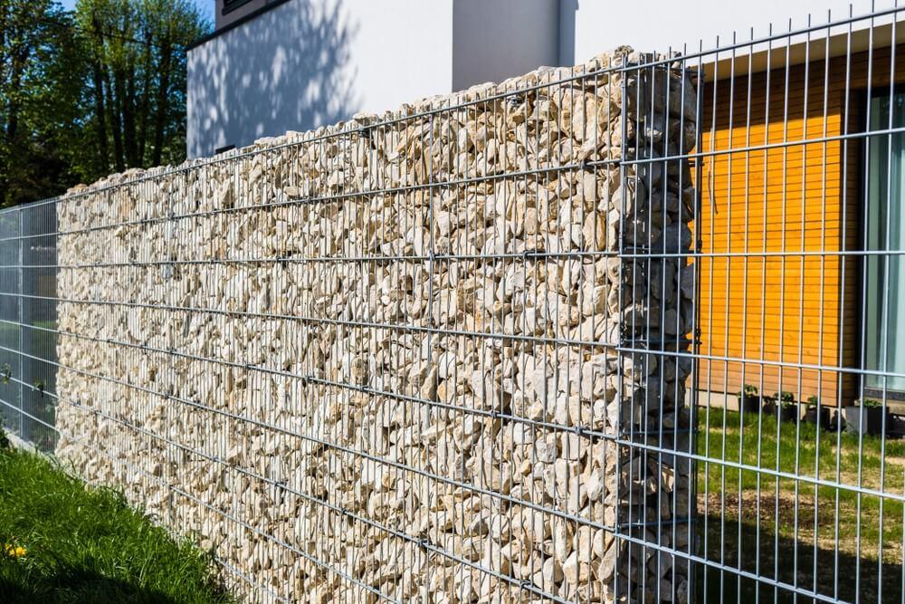 garduri din plasa cu gabioane